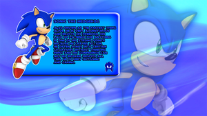 Sonic The Hedgehog Character Bio by CosmicBlaster97