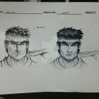 Ryu from street fighters by cpxapple
