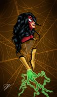 Spider-woman by N-o-X-i-S18
