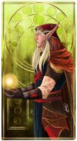 Commission WoW tarot card OC by Ioana-Muresan