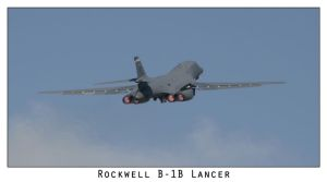 Rockwell B-1B Lancer by shotgun-ned
