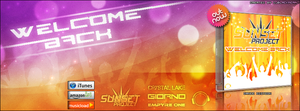 Sunset Project - Welcome Back - Timeline Cover by Djblackpearl