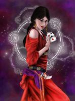 The card proclaims the future GYPSY by Quaneruin