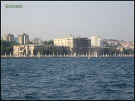 The shores of Istanbul by midnight-Nany