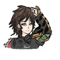 Older Hiccup by Buniette