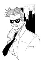 commissioner gordon by JamieFayX