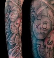 Voodoo Doll by Anderstattoo