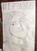 Kurt Cobain done in 99 by crezebart