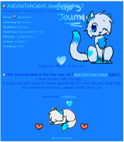 Echo Journal Skin by Kitzophrenic