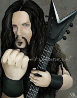 Dimebag - Pantera by XimeniSHA