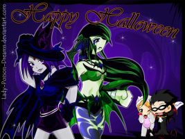 KP,TT: Halloween 2009 by Lady-Poison-Dreams