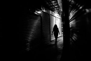 silhouette of street by Hendrix84