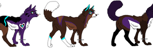 Pups for St-Zhavouras by BlackWolf1112-ADOPTS