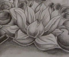 lotus tattoo design by tattoosuzette