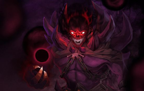 dota2 Shadow Demon by biggreenpepper
