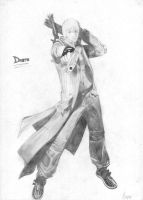 Dante from DMC3 by Chronic-Shadow