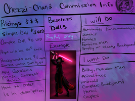 Doll Commission Page by Chezzi-Chan