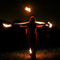 Crucified by Fire by MD-Arts