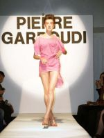 Pierre Garroudi fashion show at LFW, Sept 2008. by Make-upArtist