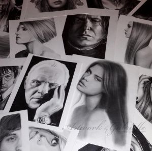 Pencil Drawings by gabbyd70