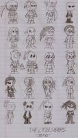 Original Characters- The Little Siders Set6 by DarkOliver