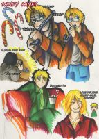 Hetalia: Candy Canes by ArtisticMoose