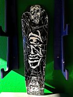 Twiztid casket long board by bigbabyretard