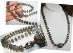 Labradorite Necklace by CrysallisCreations