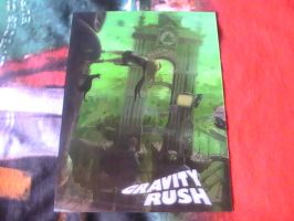 Gravity Rush - Moving Picture by DazzyDrawing