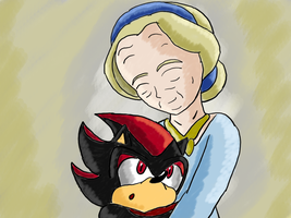 Shadow and Maria by Krispina-The-Derp