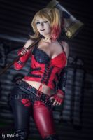 Harley Quinn Cosplay Are u my puddin? by MiuMoonlight