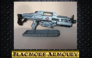 Nerf Rapidstrike with a matching mag by Blackmore-Armoury