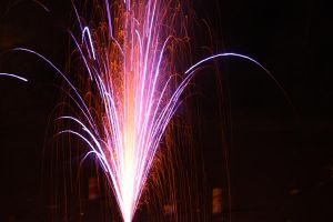 Happy 4th of July! Slow Shutter Firework by designerfied