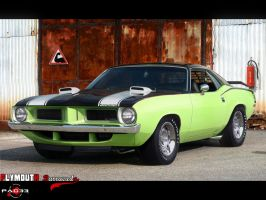 Plymouth Barracuda 1970 II by pacee