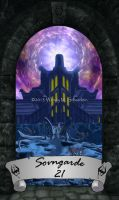 Skyrim Tarot 21 - Sovngarde by Whisper292
