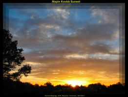 Maple Knobb Sunset 2 by slowdog294