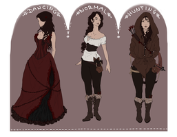 Rose Outfits by Madlaid