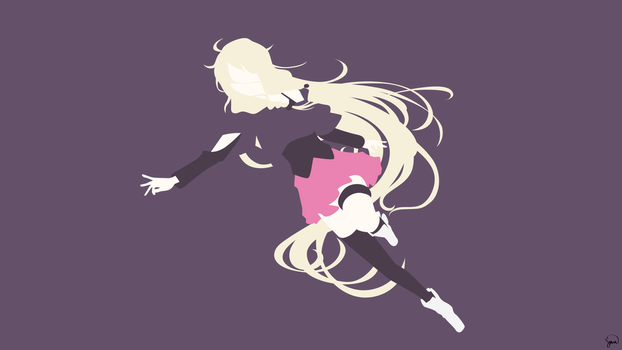 IA (Vocaloid) Minimalist Wallpaper by greenmapple17