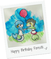 Happy Birthday Forestii! by Wiree