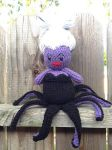Crochet Ursula by MermaidsNLattes