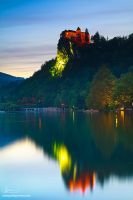 Bled Castle by too-much4you