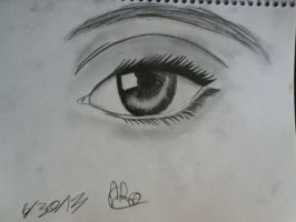 Realistic Eye by soundwavesfangirl101