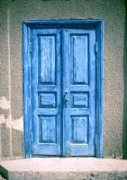Blue door by Redilion