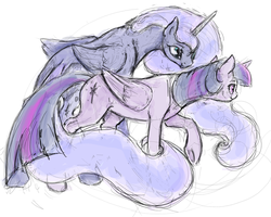 Twiluna Sketch by SilFoe