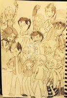 The Whole Team by ravenviolet777