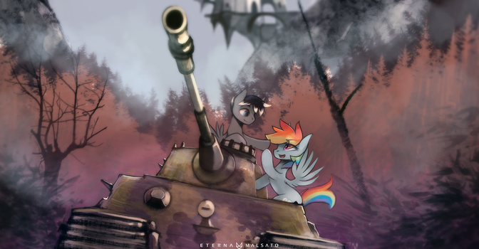 Not exactly the Tank I meant, but that will do by FoxInShadow