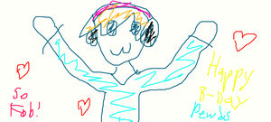 Pewdiepie Fail Drawing (Attempt #1) by Rapono