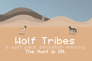 Wolf Tribes ( hopeful game? 8D) by Cass-EX