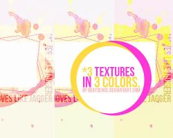 3 textures in 3 colores by beatsense