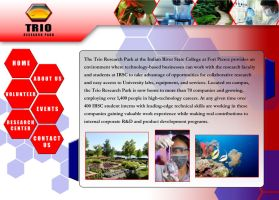 Trio Research Park: Website by SoulReaver9000